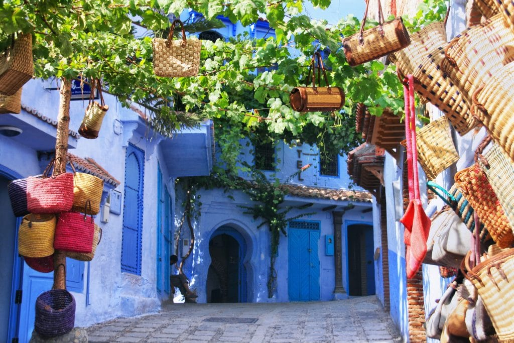 Marrakech to Fes via Casablanca + Chefchaouen Tour • 4 or 8 days