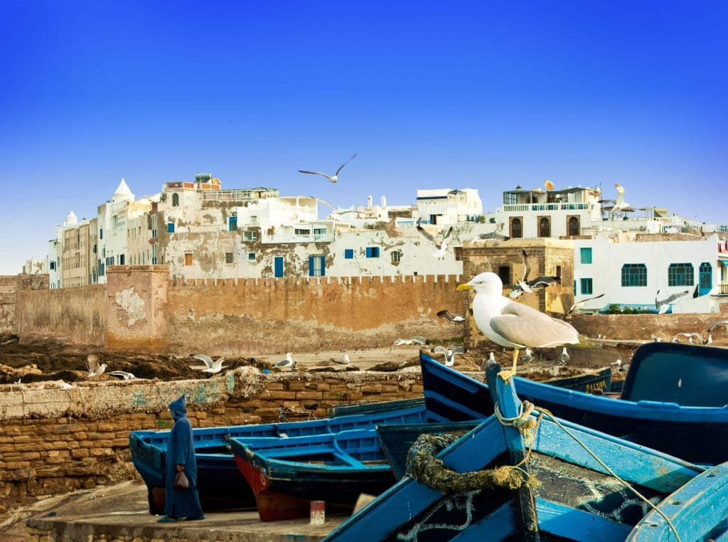 Marrakech to Fes via Casablanca + Essaouira Tour • 5-Day Hotel pick-up or 8-Day Airport pick-up