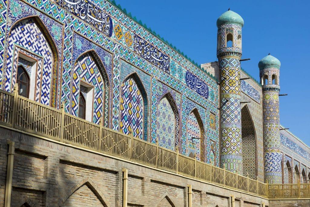 Khudayar Khan Palace in Kokand, Uzbekistan