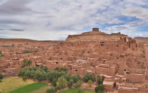 Morocco tourist attractions AIT BENHADDOU