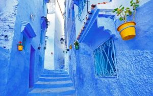 Morocco tourist attractions CHEFCHAOUEN