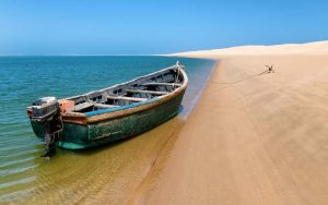 Morocco tourist attractions KHENIFISS