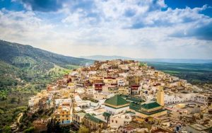 Morocco tourist attractions MOULAY IDRISS