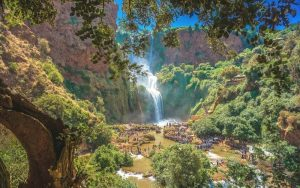 Morocco tourist attractions OUZOUD