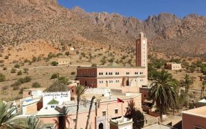 Morocco tourist attractions TAFRAOUT