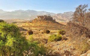 Morocco tourist attractions TISSERGANE