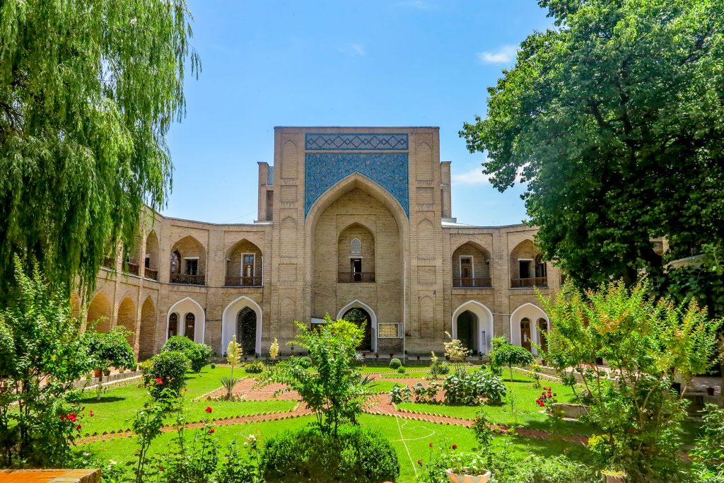 Kukeldash Madrasa in Tashkent, Uzbekistan