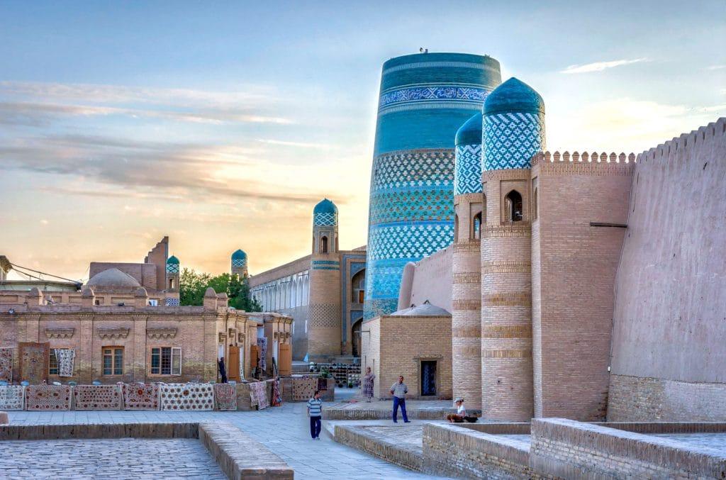 Khiva downtown, Uzbekistan