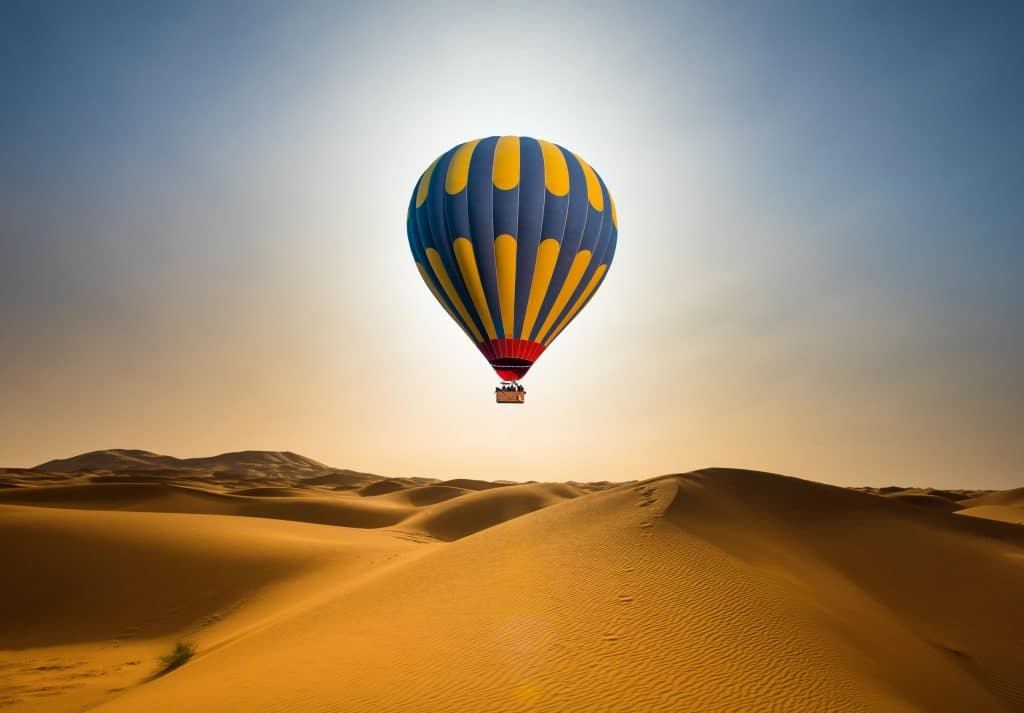 DMC in Morocco, Hot air balloon Marrakech