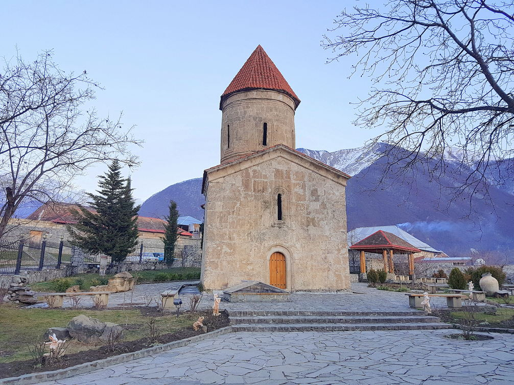 Church of Kish Azerbaijan