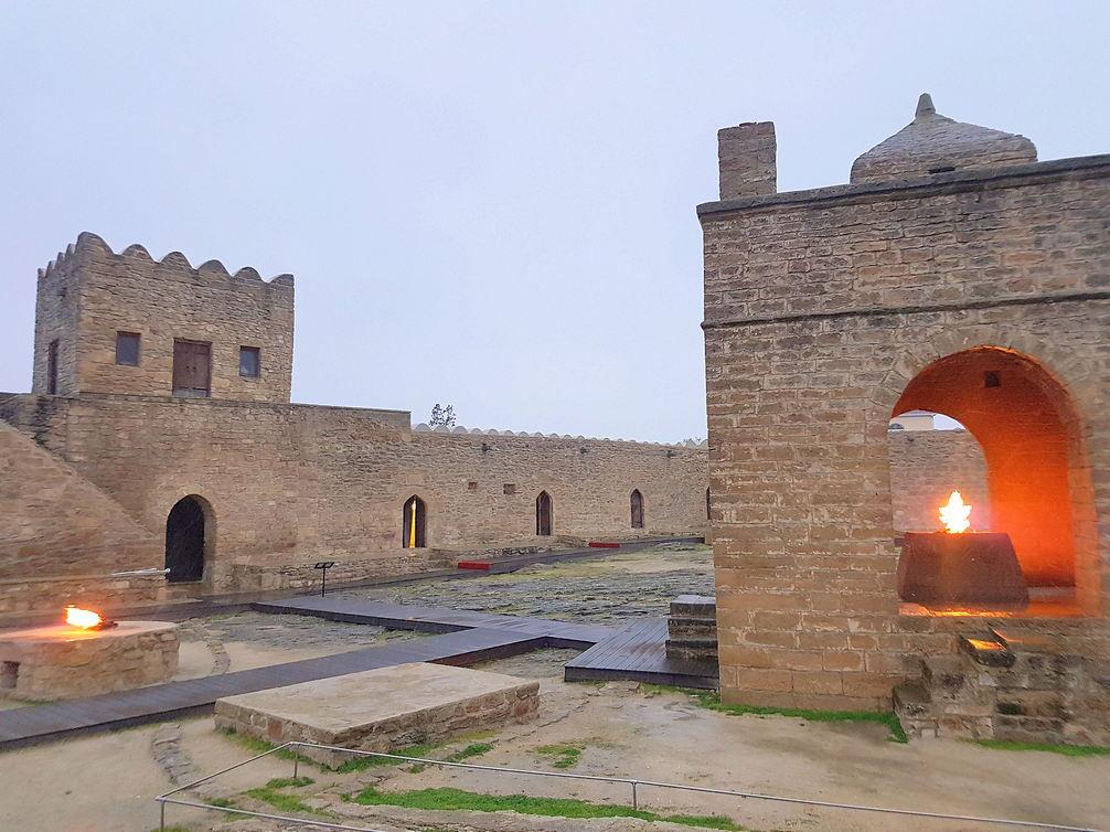 Światynia Ognia Ateshgah Azerbaijan
