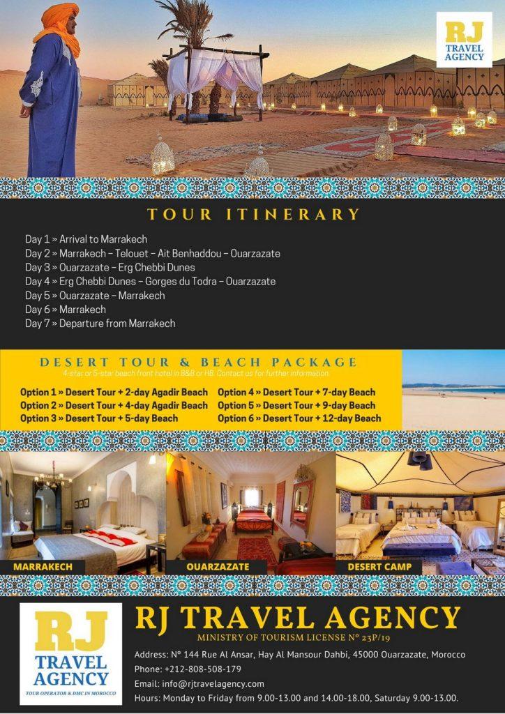 7-Day Marrakech & Desert Tour Morocco 430€ • Join a Group 2