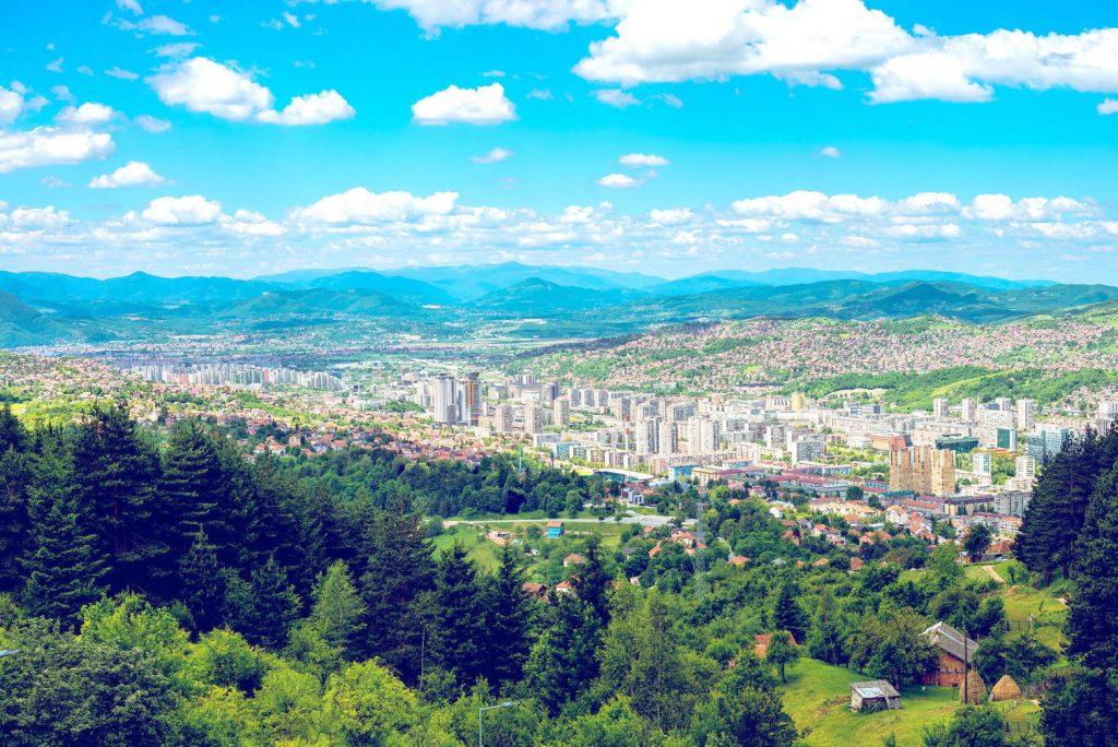 Trebevic mountain
