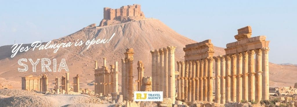 Adventure holidays with many choices of Syria tour packages