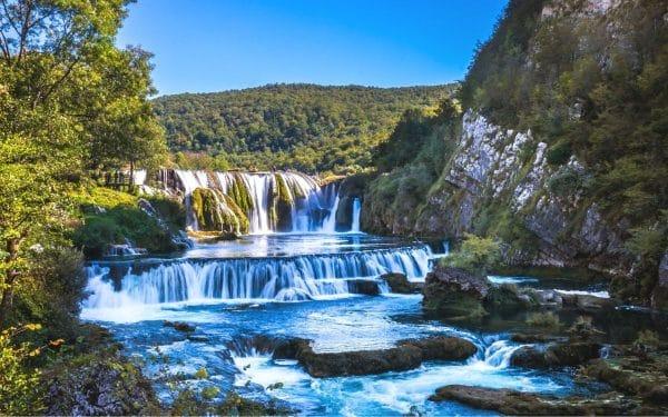 Waterfalls Strbacki buk Bosnia and Herzegovina