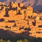 Kasbah Ait Benhaddou just after sunrise