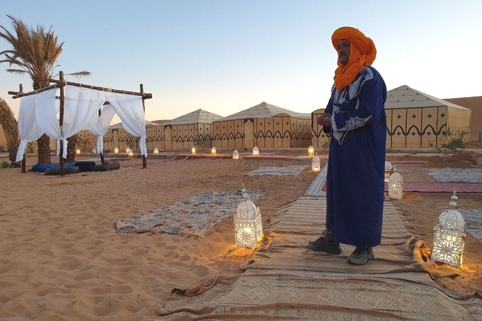 5 Star Desert Camp Morocco