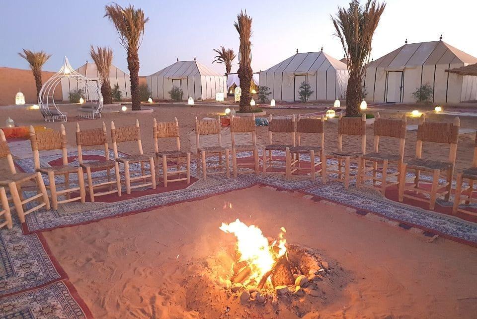 Deluxe Desert Camp Morocco