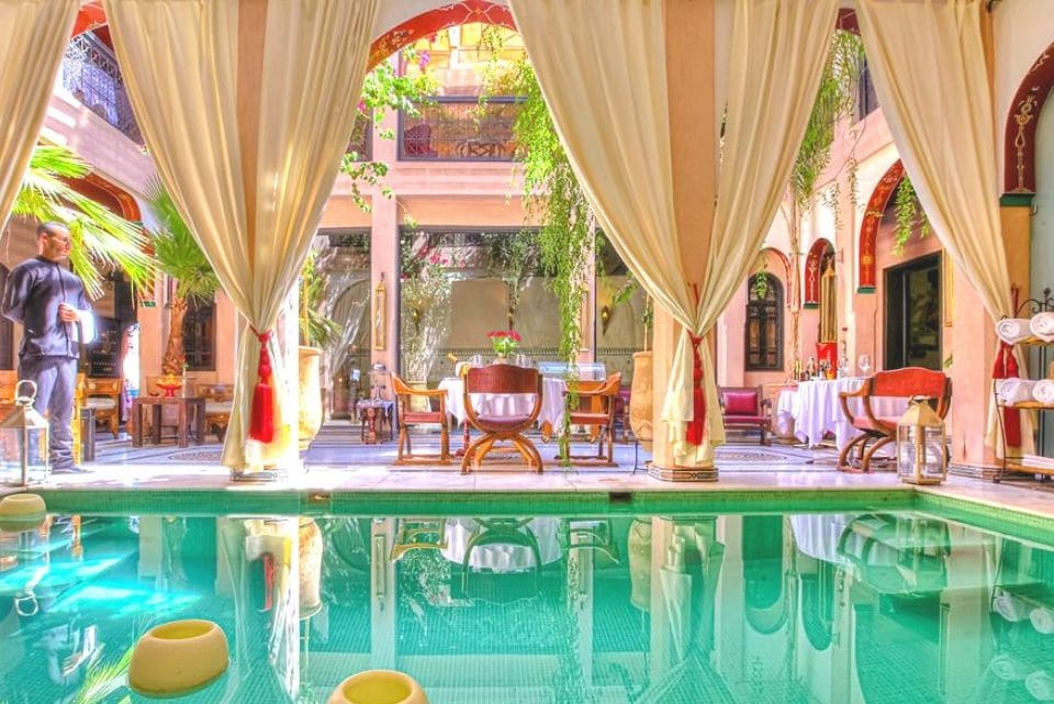 Deluxe hotel in Marrakech