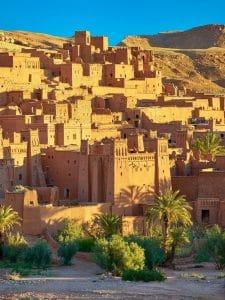 4 day Morocco itinerary » Marrakech desert tour and kasbahs Ksar Ait Benhaddou Morocco