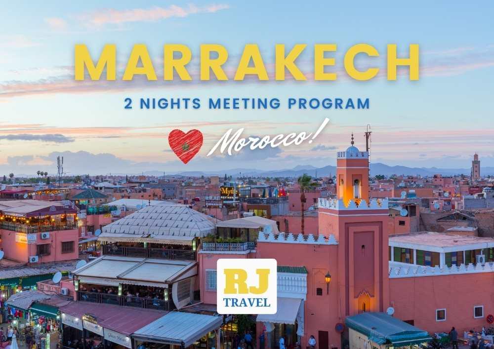 Morocco Tour Operator & DMC DMC Morocco 2 night Marrakech Program