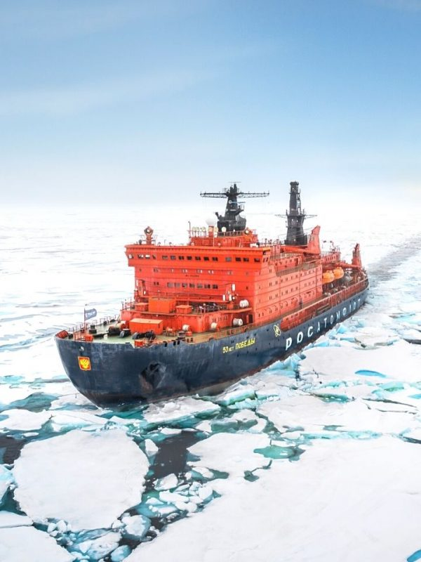 North Pole Expedition onboard the world's largest Nuclear icebreaker
