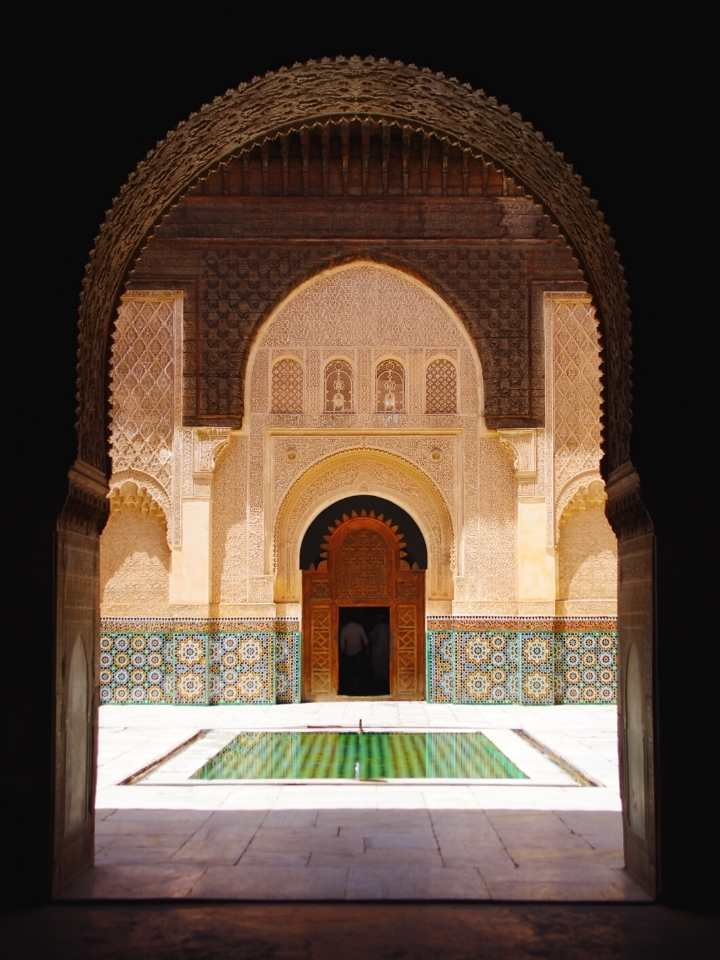 6 days tour from Casablanca to Marrakech, Rabat, Chefchaouen and Fes