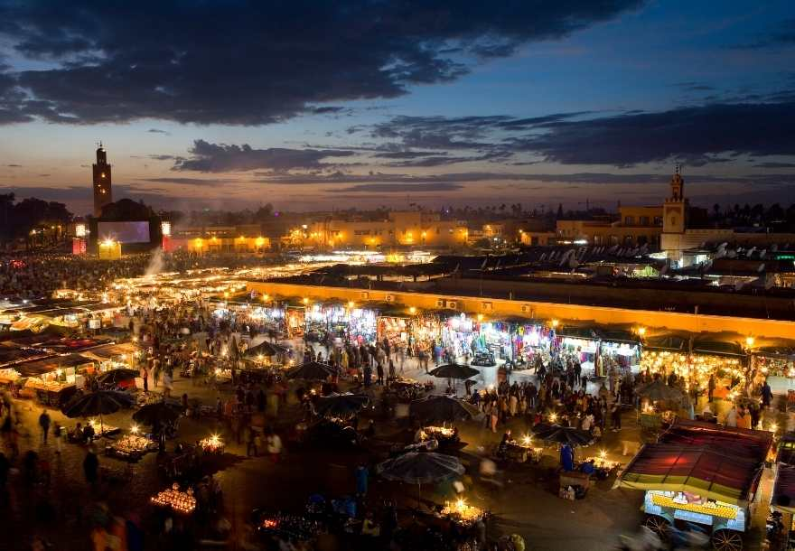 8 days Morocco itinerary from Marrakech Arrive to Marrakech