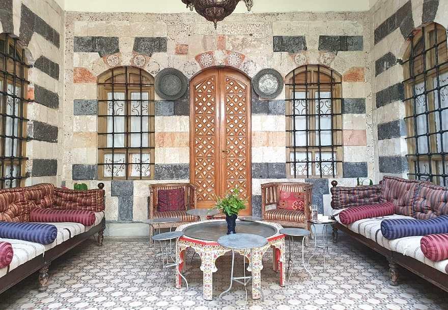 Beit Al Mamlouka in Damascus Beit Al Mamlouka in Damascus 2
