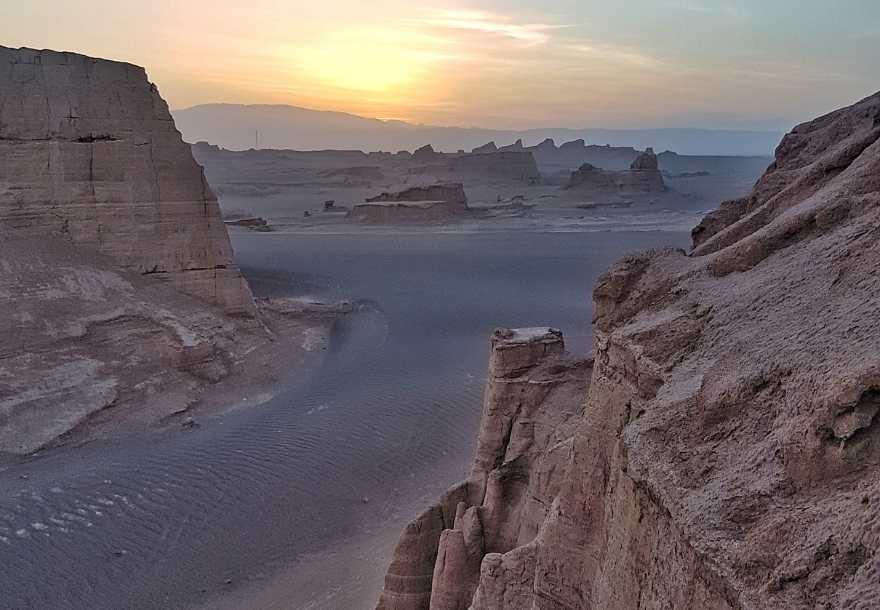 Kalut desert Iran