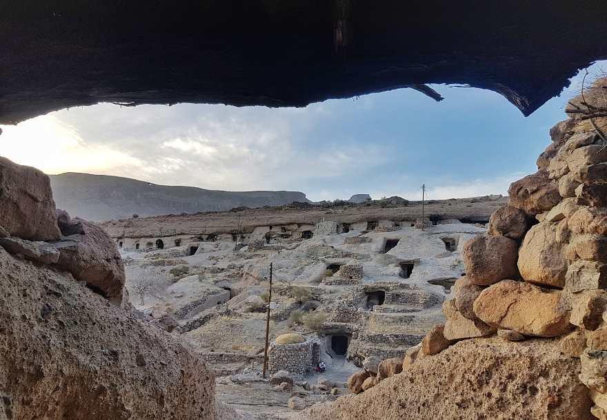 Meymand rock village Iran