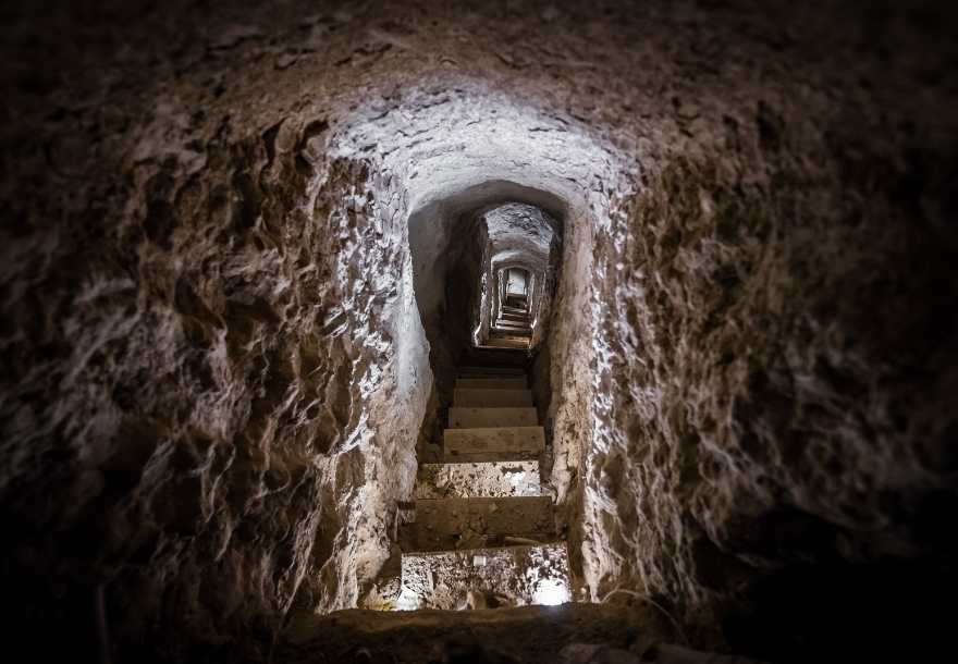 Nushabad underground city Iran
