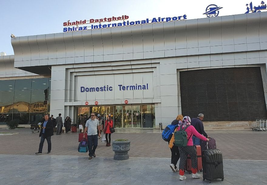 Shiraz International airport you will have to deliver the papers we sent to your Client Area: Iranian visa reference number, the Iranian travel, medical insurance, and our agency voucher.
