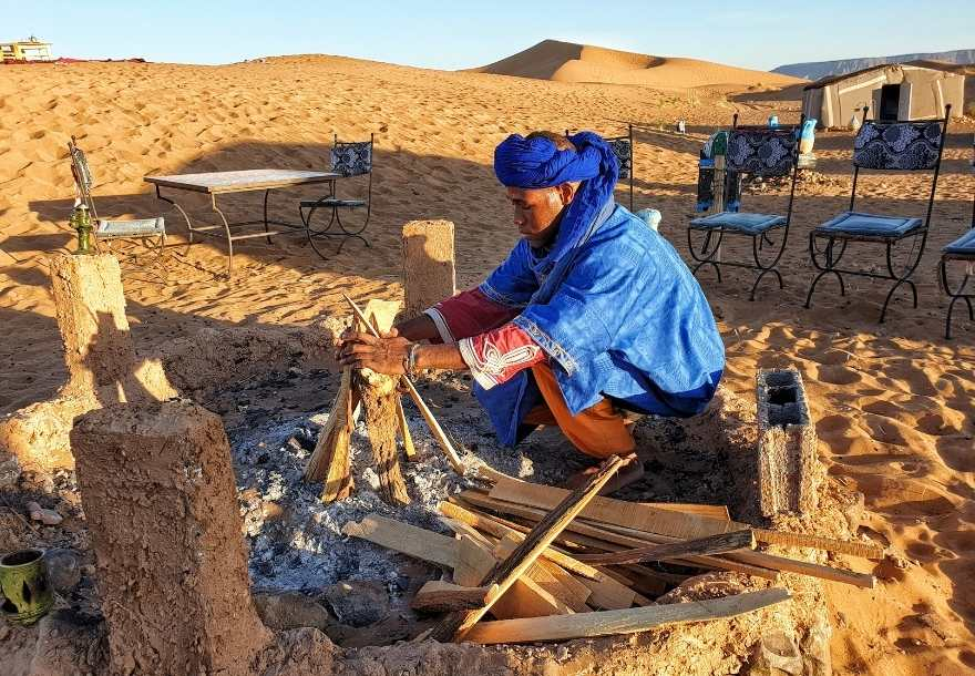 Tinfou Dunes are not a synonym of the mighty Sahara Desert, yet its beauty stands out and worth a visit.