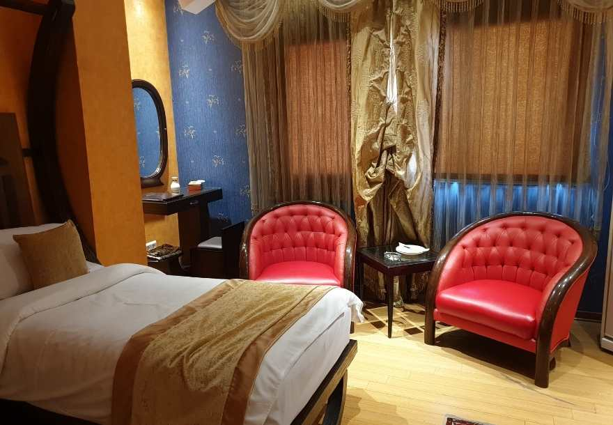 Where to stay in Tehran hotel