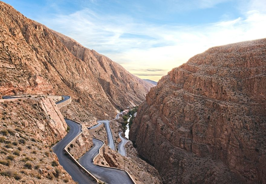 Dades Valley Tissedrine road