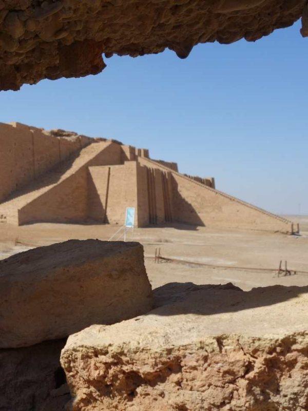 Tour visit Ziggurat of Ur Iraq